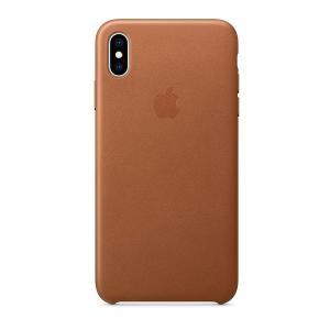 iPhoneXSMax ケース Apple アップル iPhone XS Max レザーケース - サドルブラウン MRWV2FE/A ネコポス可|ec-kitcut
