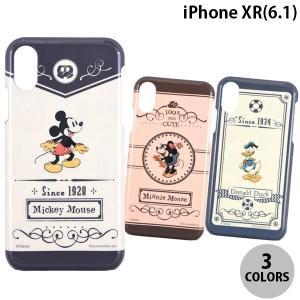 iPhoneXR ケース gourmandise iPhone XR ハードケース ディズニー  グルマンディーズ ネコポス送料無料|ec-kitcut