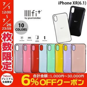 iPhoneXR ケース gourmandise iPhone XR IIIIfi+ イーフィット  グルマンディーズ ネコポス送料無料|ec-kitcut