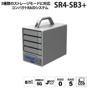 RAIDケース STARDOM スターダム SOHORAID SR4-SB3 Plus eSATA / USB3.0 SR4-SB3+ ネコポス不可|ec-kitcut