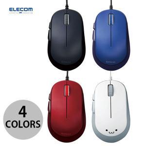 マウス エレコム 5ボタンBlueLED有線マウス  ネコポス不可|ec-kitcut