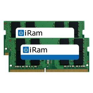 Mac用メモリ iRam アイラム PC4-21333 DDR4 2666MHz SO.DIMM 64GB 2x32GB IR32GSO2666D4/2 ネコポス不可|ec-kitcut