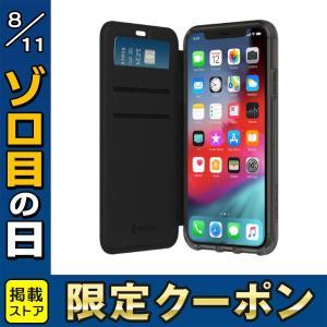 iPhoneXS / iPhoneX ケース Griffin Technology グリフィンテクノロジー Survivor Clear Wallet for iPhone XS - Black/Clear GIP-017-BKC ネコポス送料無料|ec-kitcut