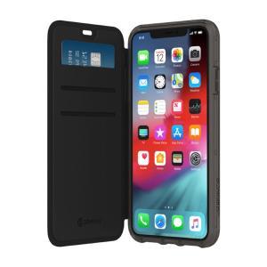 iPhoneXSMax ケース Griffin Technology グリフィンテクノロジー Survivor Clear Wallet for iPhone XS Max - Black/Clear GIP-018-BKC ネコポス可|ec-kitcut