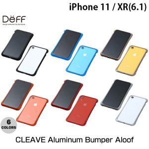 iPhoneXR バンパー Deff iPhone XR CLEAVE Aluminum Bumper Aloof ディーフ ネコポス送料無料|ec-kitcut
