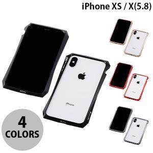 iPhoneXS / iPhoneX バンパー Deff iPhone XS / X CLEAVE Aluminum Bumper 180  ディーフ ネコポス可|ec-kitcut