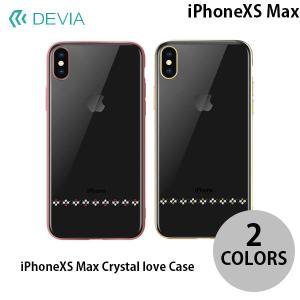 iPhoneXSMax ケース Devia iPhone XS Max Crystal love Case デビア ネコポス可|ec-kitcut