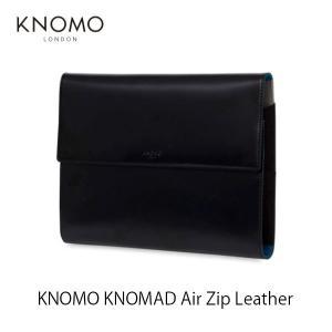パソコン周辺機器 KNOMO LONDON ノモ ロンドン KNOMAD Air Zip Leather 114-091-BLK ネコポス不可|ec-kitcut