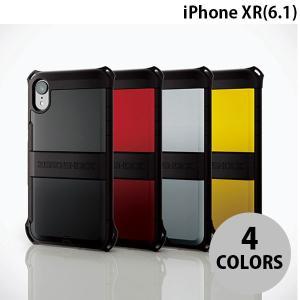 iPhoneXR ケース エレコム iPhone XR 用 ZEROSHOCK シールド  ネコポス可|ec-kitcut