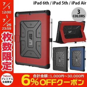 iPad6th / iPad5th ケース UAG 9.7インチ iPad 6th / 5th / Air 用 耐衝撃 メトロポリスケース  アップルペンシルホルダー付き ユーエージー ネコポス可|ec-kitcut