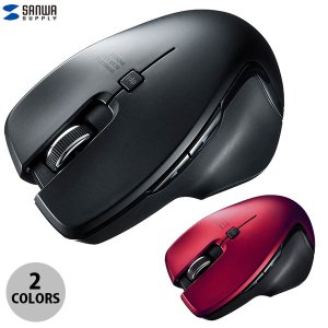 ワイヤレスマウス SANWA Type-C 5ボタンワイヤレスブルーLEDマウス ネコポス不可 ec-kitcut