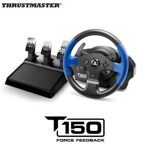 Thrustmaster スラストマスター T150 PRO Force Feedback Racing Wheel for PlayStation4 / PlayStation 3 公式ライセンス レース用シミュレータ ネコポス不可|ec-kitcut
