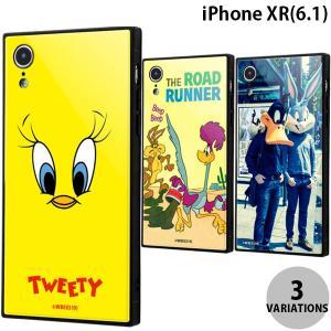 iPhoneXR ケース ingrem iPhone XR  ルーニー・テューンズ 耐衝撃ガラスケース KAKU イングレム ネコポス送料無料 スクエア型|ec-kitcut