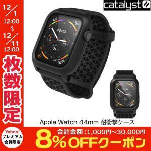 Apple watch Series5 / 4 44mm ケース Catalyst カタリスト Apple Watch 44mm Series 4 / 5 耐衝撃ケース ブラック CT-IPAW1844-BK ネコポス不可|ec-kitcut