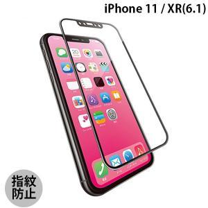 iPhoneXR ガラスフィルム エレコム ELECOM iPhone XR フルカバーガラス セラミックコート フレーム付き ブラック PM-A18CFLGFCRBK ネコポス不可|ec-kitcut