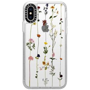 iPhoneXS / iPhoneX ケース Casetify ケースティファイ iPhone XS / X grip clear FLORAL CTF-2913728-7411804 ネコポス可|ec-kitcut