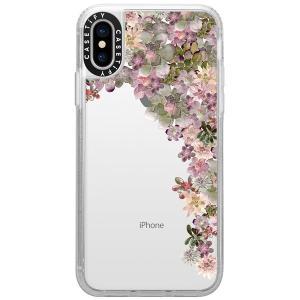 iPhoneXS / iPhoneX ケース Casetify ケースティファイ iPhone XS / X grip clear MY SUCCULENT GARDEN ROSE CTF-4051514-7411804 ネコポス可|ec-kitcut