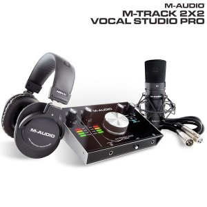 M-AUDIO エムオーディオ M-TRACK 2x2 Vocal Studio Pro ボーカル・プロダクション・パッケージ MA-REC-012 ネコポス不可|ec-kitcut