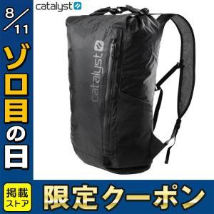 Catalyst カタリスト 完全防水バックパック 20L ステルスブラック CT-WPBP20-BK ネコポス不可|ec-kitcut