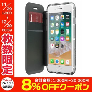 Griffin Technology グリフィンテクノロジー Survivor Clear Wallet for iPhone 8 Plus / 7 Plus / 6s Plus / 6 Plus - Black/Clear GB42812 ネコポス送料無料|ec-kitcut