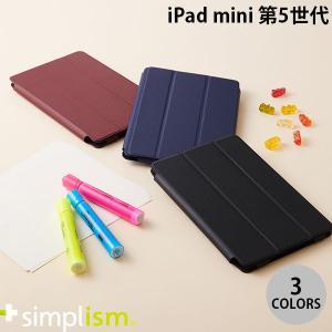 iPad mini5 ケース Simplism iPad mini 第5世代  FlipNote Slim  クラリーノ フリップノートケース  シンプリズム ネコポス可|ec-kitcut