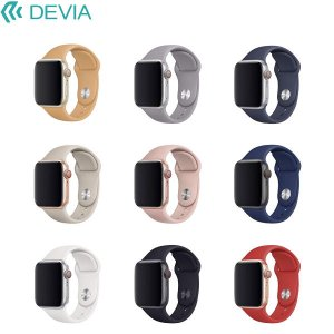 Apple Watch バンド Devia Apple Watch 38mm / 40mm Deluxe Series Sport Band デビア ネコポス可|ec-kitcut