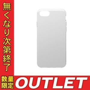 パッケージ破損  Simplism シンプリズム Simplism iPhone 8 Plus / 7 Plus  Cushion  衝撃吸収シリコンケース クリアホワイト TR-IP175-CS-CL ネコポス可 ec-kitcut