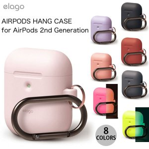 elago AirPods 第2世代 HANG CASE for AirPods 2nd Gener...