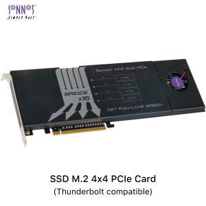 拡張カード SONNET ソネット テクノロジー SSD M.2 4x4 PCIe Card Thunderbolt compatible FUS-SSD-4X4-E3S ネコポス不可|ec-kitcut