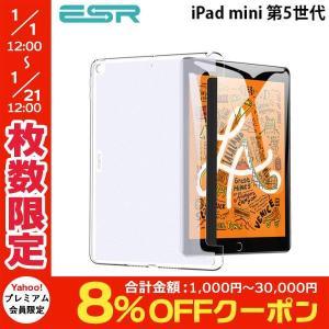 iPad mini5 ケース ESR イーエスアール iPad mini 第5世代 Smart Back Cover クリア ES16479 ネコポス可|ec-kitcut