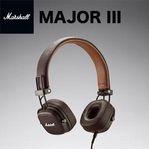 マイク付き ヘッドホン Marshall Headphones マーシャル ヘッドホンズ MAJOR III ヘッドフォン with MIC & REMOTE Brown ZMH-04092184 ネコポス不可|ec-kitcut