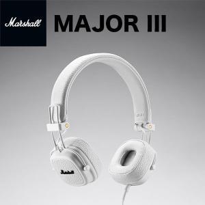 マイク付き ヘッドホン Marshall Headphones マーシャル ヘッドホンズ MAJOR III ヘッドフォン with MIC & REMOTE White ZMH-04092185 ネコポス不可|ec-kitcut