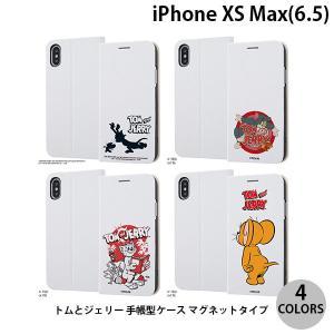 iPhoneXSMax ケース ingrem iPhone XS Max トムとジェリー 手帳型ケース マグネットタイプ イングレム ネコポス送料無料 ec-kitcut