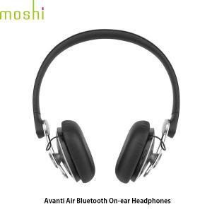 ワイヤレス ヘッドホン moshi エヴォ Avanti Air Bluetooth ワイヤレス オンイヤーヘッドフォン Jet Black mo-avnar-bk ネコポス不可|ec-kitcut