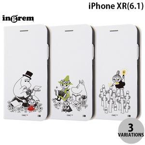iPhoneXR ケース ingrem iPhone XR ムーミン 手帳型ケース マグネットタイプ イングレム ネコポス送料無料|ec-kitcut