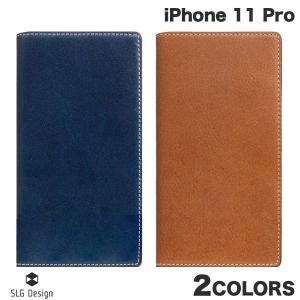 iPhone 11 Pro ケース SLG Design iPhone 11 Pro Tamponata Leather case 本革 手帳型ケース エスエルジー デザイン ネコポス不可|ec-kitcut