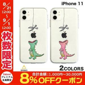 iPhone 11 ケース Dparks iPhone 11 ソフトクリアケース ファンタジー はらぺこザウルス  ディーパークス ネコポス可 ec-kitcut