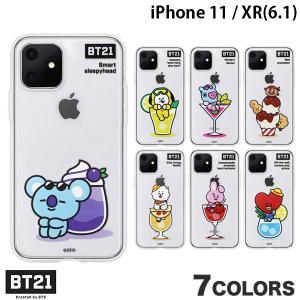 iPhone 11 / XR ケース BT21 iPhone 11 / XR CLEAR SOFT SUMMER DOLCE   ネコポス可|ec-kitcut