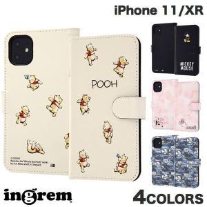 iPhone 11 / XR ケース ingrem iPhone 11 / XR ディズニーキャラクター 手帳型アートケース マグネット  イングレム ネコポス送料無料|ec-kitcut