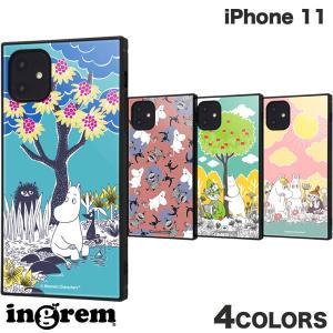 iPhone 11 ケース ingrem iPhone 11 ムーミン 耐衝撃ハイブリッドケース KAKU イングレム ネコポス送料無料 ec-kitcut