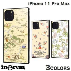 iPhone 11 Pro Max ケース ingrem iPhone 11 Pro Max くまのプーさん 耐衝撃ハイブリッドケース KAKU  イングレム ネコポス送料無料|ec-kitcut