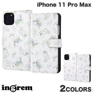 iPhone 11 Pro Max ケース ingrem iPhone 11 Pro Max ディズニー・ピクサーキャラクター 手帳型アートケース マグネット  イングレム ネコポス送料無料|ec-kitcut
