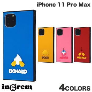 iPhone 11 Pro Max ケース ingrem iPhone 11 Pro Max ディズニーキャラクター 耐衝撃ハイブリッドケース シリコン KAKU  イングレム ネコポス送料無料|ec-kitcut