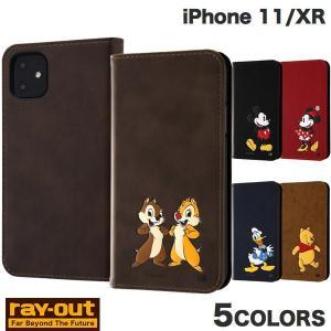 iPhone 11 / XR ケース Ray Out iPhone 11 / XR ディズニー 手帳型ケース ポップアップ レイアウト ネコポス送料無料|ec-kitcut