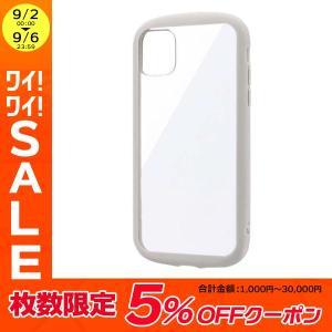 iPhone 11 ケース LEPLUS ルプラス iPhone 11 耐衝撃ハイブリッドケース PALLET CLEAR ライトグレー LP-IM19PLCLG ネコポス送料無料|ec-kitcut