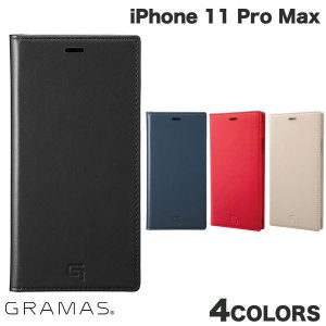 iPhone 11 Pro Max ケース GRAMAS iPhone 11 Pro Max Genuine Leather Book Case  グラマス ネコポス不可 ec-kitcut