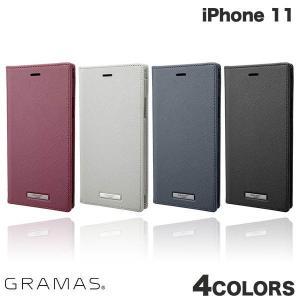 iPhone 11 ケース GRAMAS iPhone 11 EURO Passione PU Leather Book Case  グラマス ネコポス送料無料 ec-kitcut