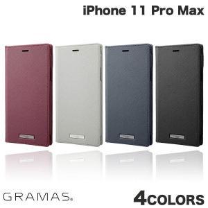 iPhone 11 Pro Max ケース GRAMAS iPhone 11 Pro Max EURO Passione PU Leather Book Case  グラマス ネコポス送料無料 ec-kitcut
