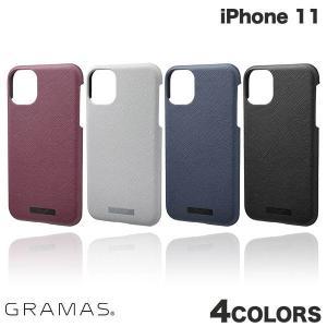 iPhone 11 ケース GRAMAS iPhone 11 EURO Passione PU Leather Shell Case  グラマス ネコポス送料無料 ec-kitcut