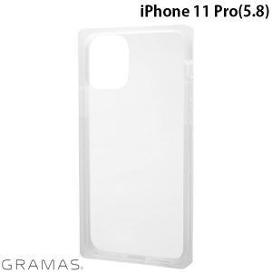 iPhone 11 Pro ケース GRAMAS グラマス iPhone 11 Pro Glassty Glass Hybrid Shell Case クリア CHCGP-IP01CLR ネコポス送料無料 ec-kitcut